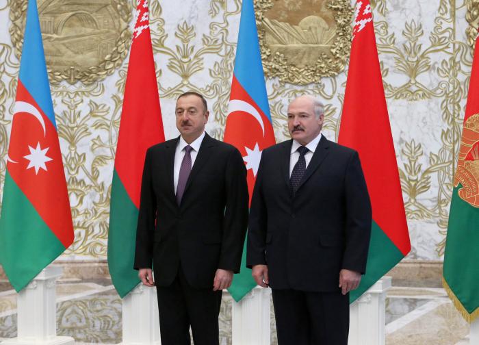 Presidente Ilham Aliyev visitará Bielorrusia
