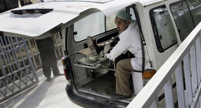 Una explosión causa numerosas víctimas en Kabul