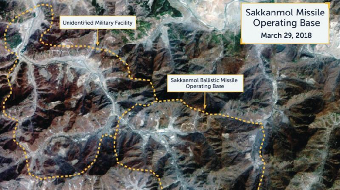 North Korea hiding missile bases in remote areas: report