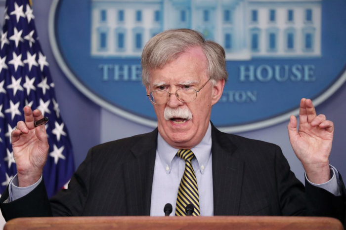Bolton says U.S. objects to China
