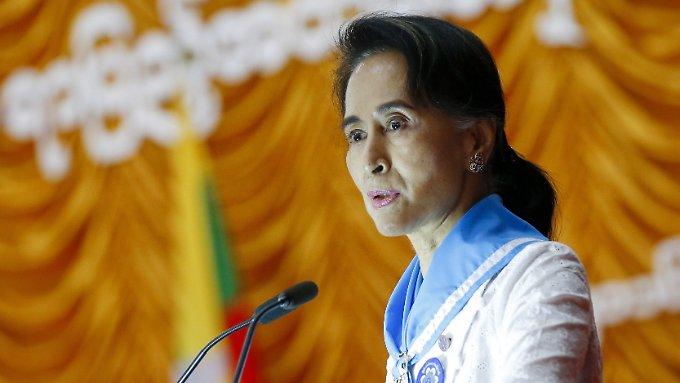 Amnesty entzieht Regierungschefin Ehrentitel