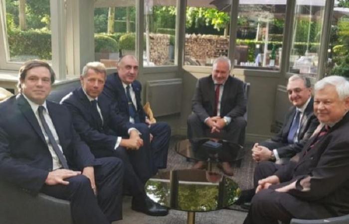 Außenminister trifft sich mit seinem armenischen Amtskollegen in Mailand