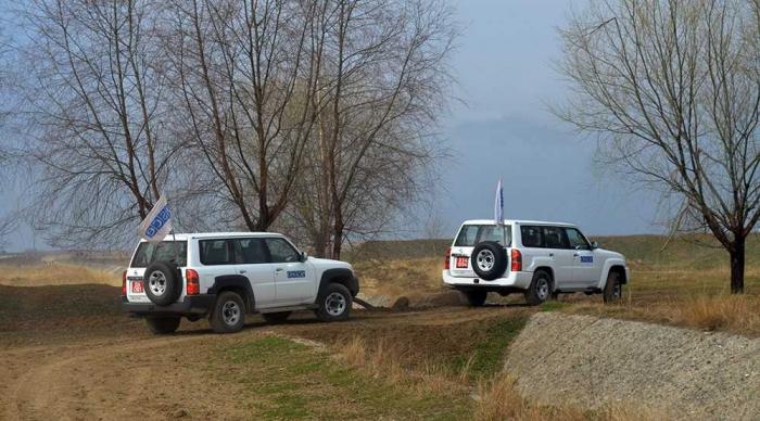 OSZE-Beobachter reisen an Frontlinie