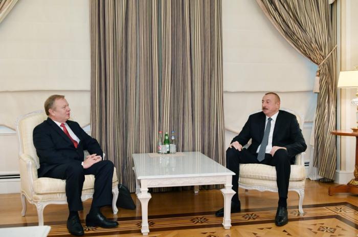 President Ilham Aliyev receives Belarus ambassador - UPDATED