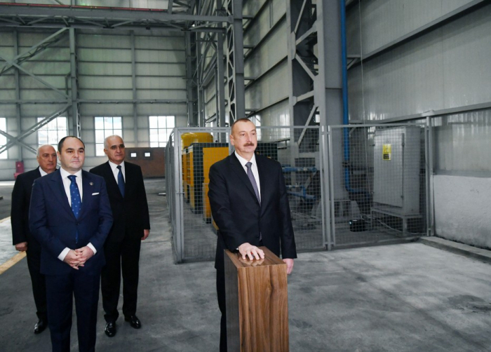 President Ilham Aliyev attended several inaugurations in Sumgayit - UPDATED, PHOTOS