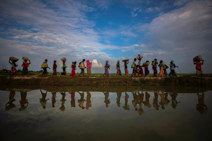 China offers Myanmar support over Rohingya issue after U.S. rebuke
