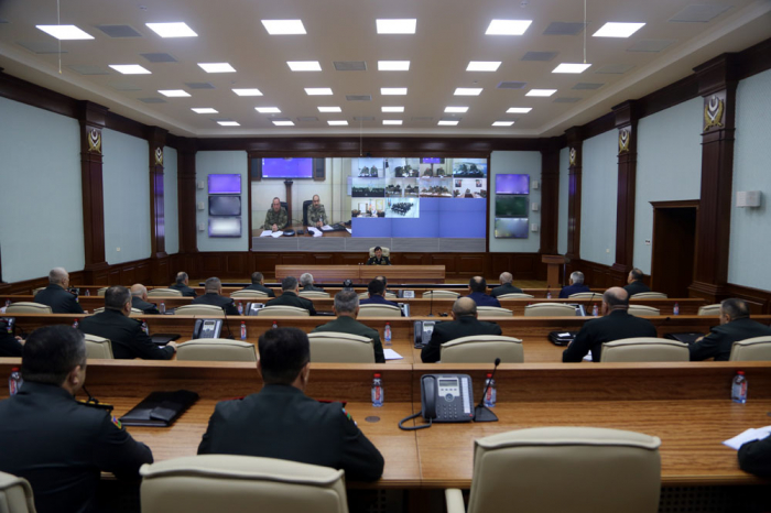 Chief of Azerbaijani General Staff holds meeting on results of CSWG