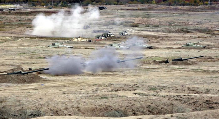 Troops of Nakhchivan garrison successfully conduct live-fire stage as part of CSWG - PHOTO+VIDEO