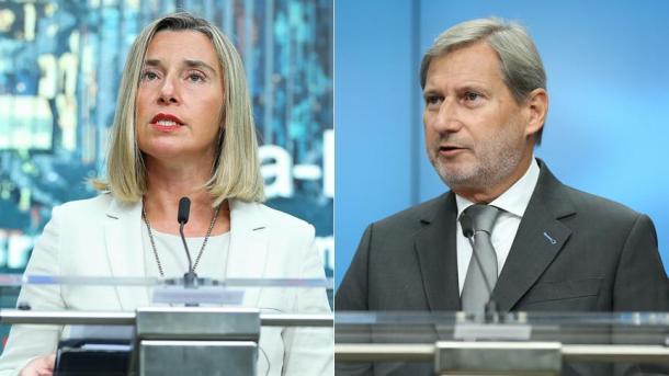 Mogherini und Hahn kommen in die Türkei