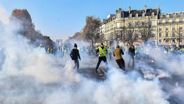 Fransada etirazlar: