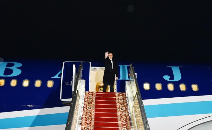 Le président Aliyev a terminé sa visite en Biélorussie - PHOTOS