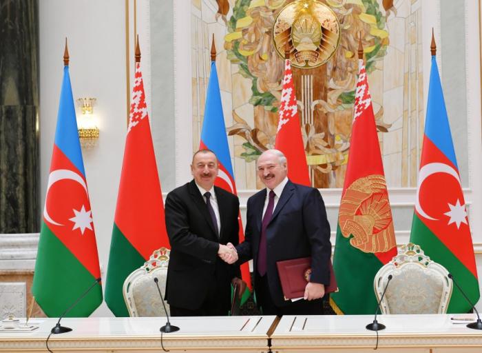 Azərbaycan-Belarus sənədləri imzalanıb - FOTOLAR (Yenilənib)