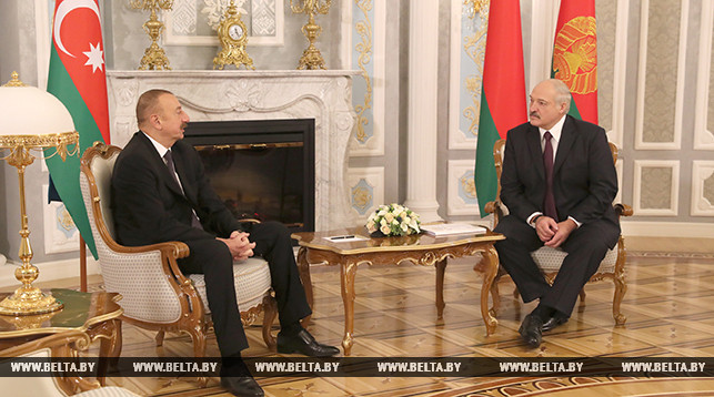 Lukashenko: Azerbaijani president's visit to Belarus – a new step in building bilateral relations in future
