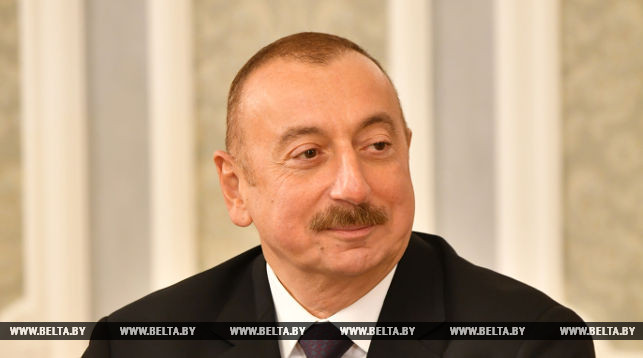 Ilham Aliyev: Tangible results in all areas of Belarus-Azerbaijan cooperation