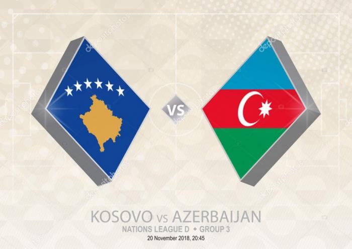 Kosovo - Azərbaycan oyunu: Heyətlər açıqlandı