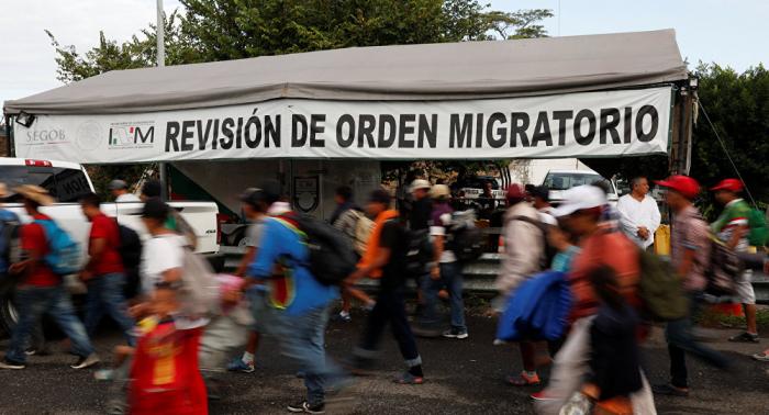 Informantes secretos remiten a EEUU datos sobre la caravana de migrantes