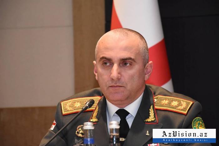 Azerbaiyán estuvo a nuestro lado durante la crisis- Jefe de Estado Mayor georgiano