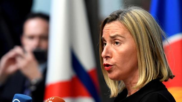 """Mogherini: """"No estamos creando ningún ejército europeo"""""""