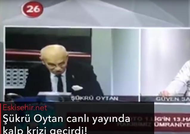 Türkischer Moderator erleidet Herzinfarkt bei Live-Übertragung – VIDEO