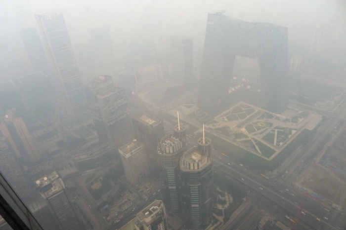 Beijing issues yellow alert for heavy air pollution