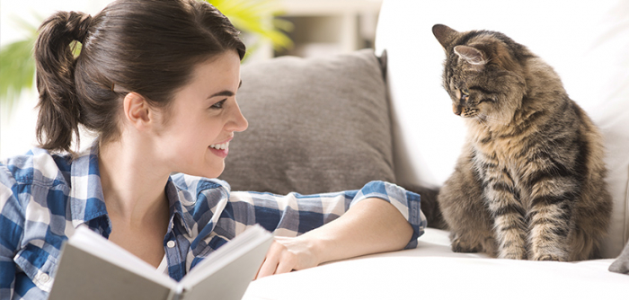 Owning a pet may provide key to a longer, happier life