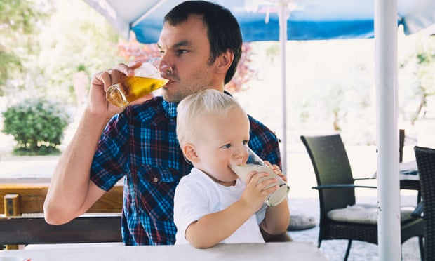 Should I avoid drinking in front of my children?