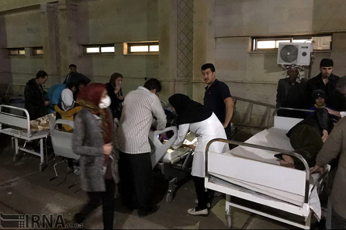 Over 700 injured after powerful quake strikes western Iran - UPDATED