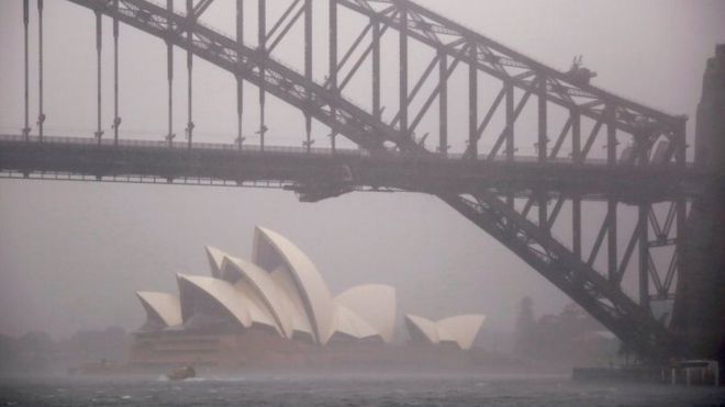 Sydney storms: Hundreds call for help amid flash-flooding