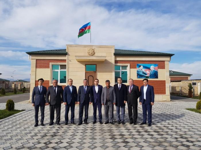 Diplomatic staff of TURKPA Secretariat visits Jojug Marjanli