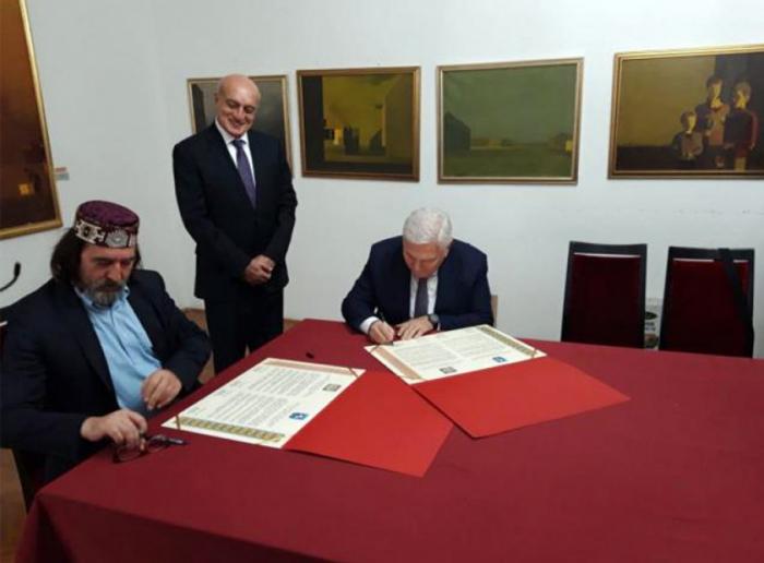 Sheki, Varazdin city of Croatia sign cooperation charter