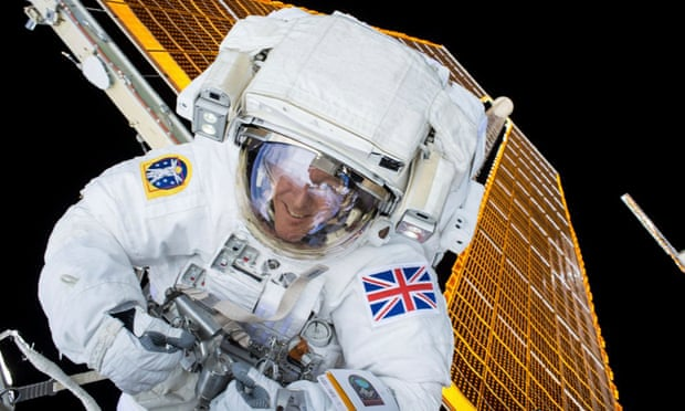 Major Tim Peake reveals what ground control wants in an astronaut