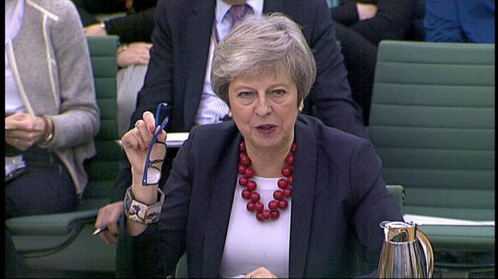 UK PM May says any Article 50 extension reopens the Brexit negotiations