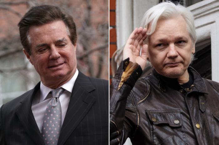 PaulManafort met with Julian Assange ahead of 2016 leaks