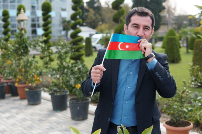 PJB-dən növbəti bayraq aksiyası - Fotolar