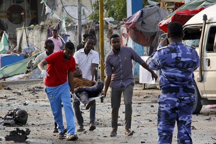 Death toll rises to 50 from triple terrorist attacks in Somalia
