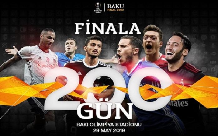 Avropa Liqasının finalına 200 gün qaldı!