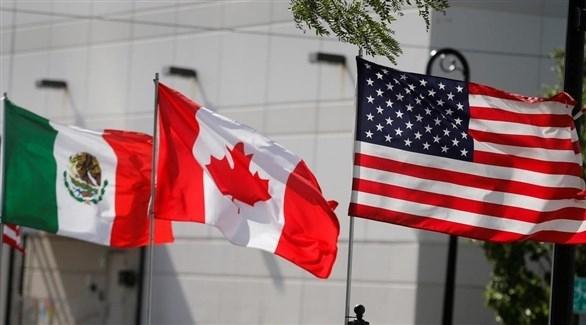 توقيع اتفاقية التجارة المشتركة بين أمريكا وكندا والمكسيك