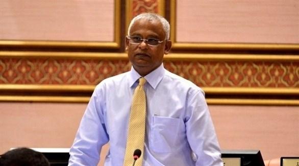 إبراهيم صليح يقسم اليمين بصفته رئيساً جديداً لجزر المالديف