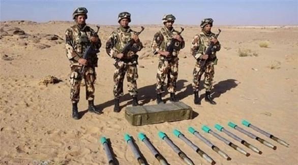 الجزائر: الجيش يضبط مخبأً أسلحة في جنوب البلاد