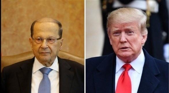 ترامب لعون: ثابتون على دعم أمن وسلامة لبنان