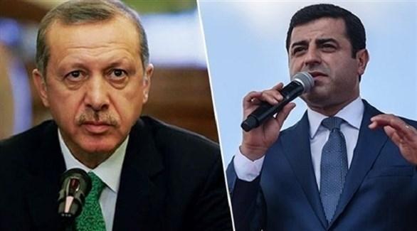 تركيا: أردوغان يرفض حكم الأوروبية لحقوق الإنسان بإطلاق معارض كردي