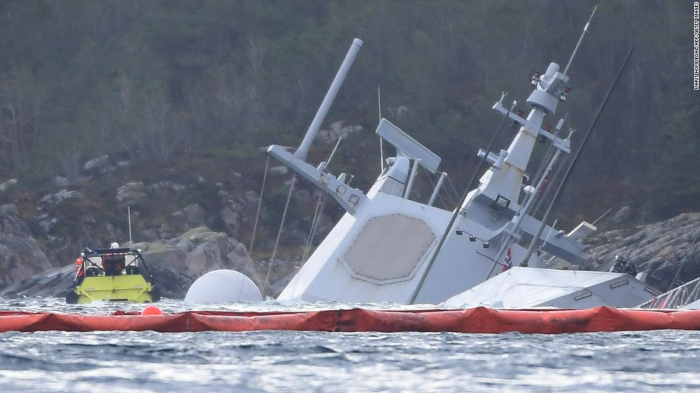 Norway stunned as latest warship sinks after collision