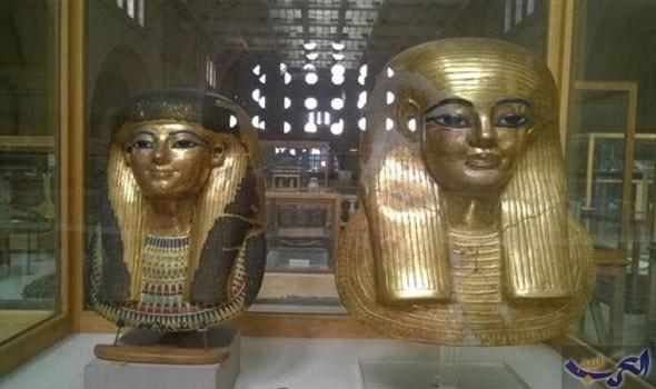 """""""يويا وتويا"""" تستعد لاستقبال زوار الجناح الشرقي للمتحف المصري"""