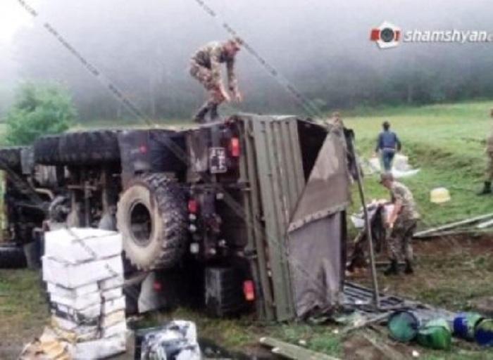 Qubadlı yolunda 4 erməni hərbçi öldü, yaralılar var (Yenilənib)