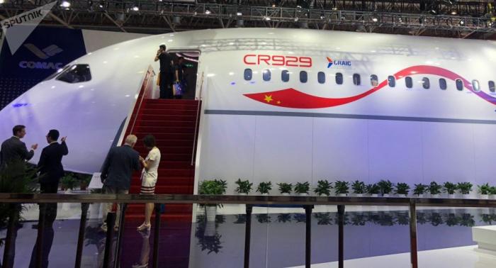 Russland und China zeigen erstmals gemeinsamen Passagierjet