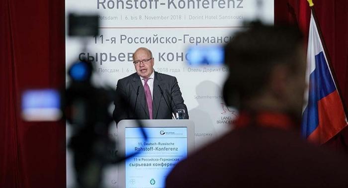 Wirtschaftsminister Altmaier bekräftigt Einsatz für Nord Stream 2