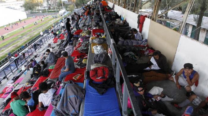 5500 migrants en route pour les USA arrivés à Mexico