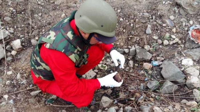 Şəmkirdə 149 partlamamış hərbi sursat tapılıb.