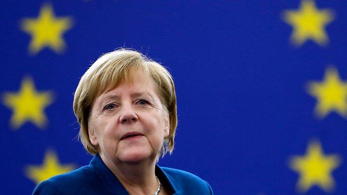 """Für Merkel ist Europa """"die beste Chance"""""""