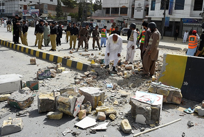 Pakistanda partlayış: